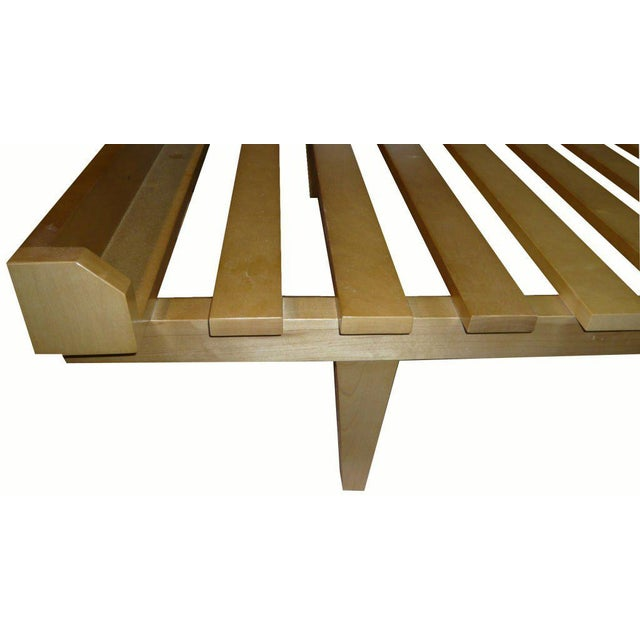 Modern Customizable Moore Slatted Daybed Frame For Sale - Image 3 of 9