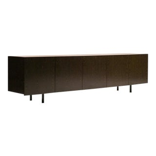 Architectural Sideboard in Wenge For Sale