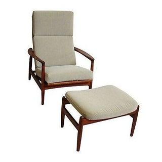 Folke Ohlsson for Dux Chair & Ottoman