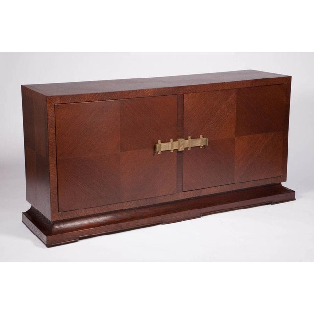Mid-Century Modern Tommi Parzinger for Charak Sideboard Console For Sale - Image 3 of 5