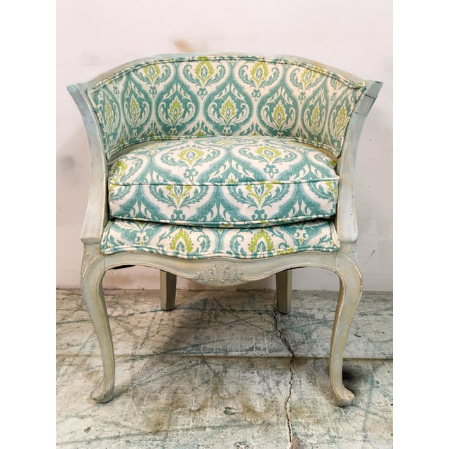 Italian Painted Arm Chair For Sale - Image 5 of 8