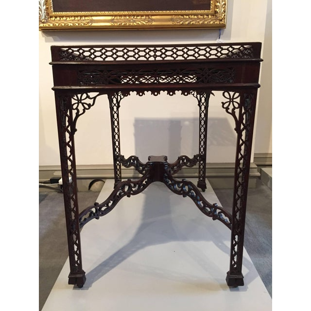 Chinese Chippendale Mahogany Tea/Coffee Table, Circa 1790 For Sale - Image 4 of 11