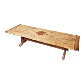 Sunburst Rectangular Conference Table