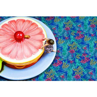 "Cheryl Maeder ""Grapefruit Girl"" Archival Photographic Watercolor Print For Sale"