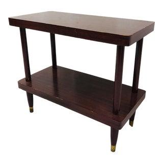 Vintage Mid Modern Side Table For Sale