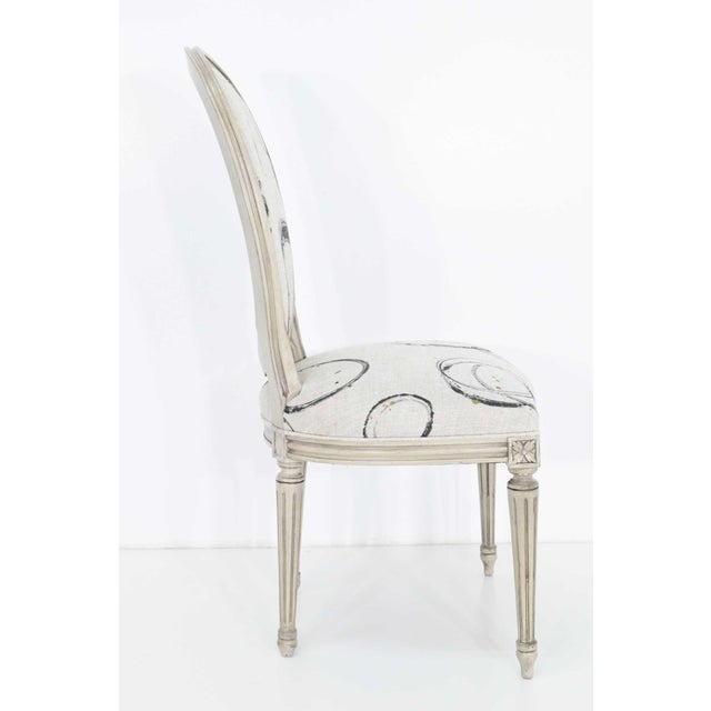 Louis XVI Louis XVI Dining Chairs by Widdicomb - Set of 6 For Sale - Image 3 of 10