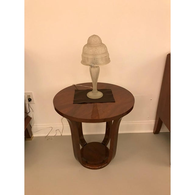 French Art Deco Table Lamp by Gênet et Michon - Image 2 of 10
