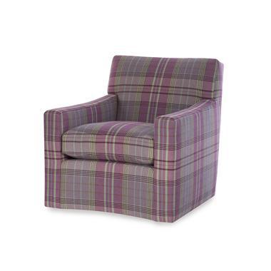 Traditional Highland House Alec Swivel Chair For Sale - Image 3 of 3