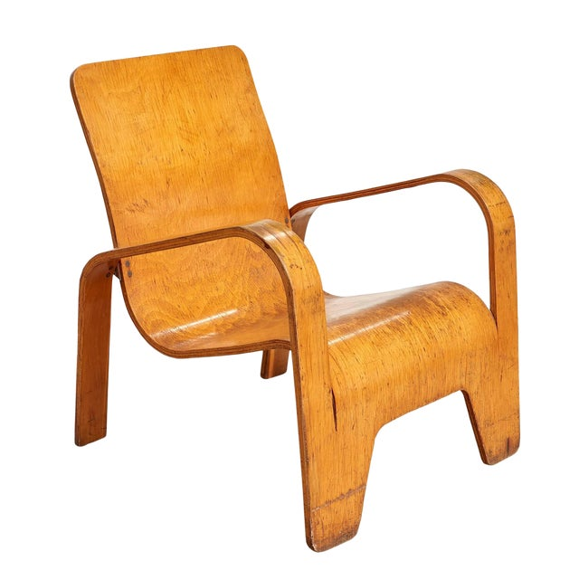 """""""Lawo"""" Lounge Chair by Han Pieck For Sale"""