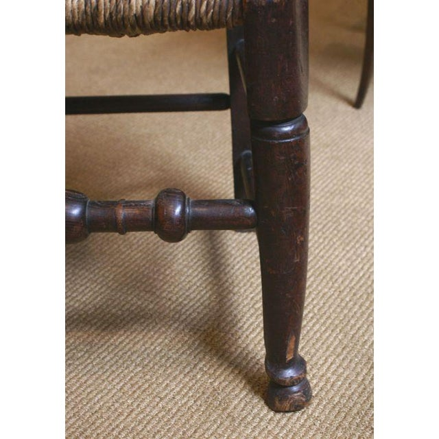 18th Century English Oak Chair For Sale In San Francisco - Image 6 of 7