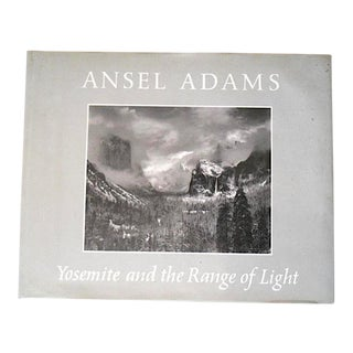 1979 Vintage Ansel Adams Images Signed 1st Edition Oversized Collector's Book For Sale