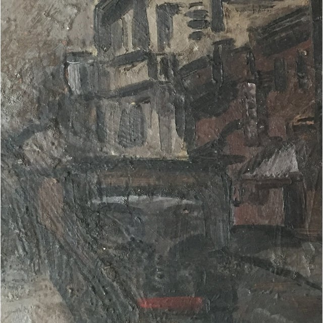 1960s Uruguayan Oil Painting - Image 3 of 3