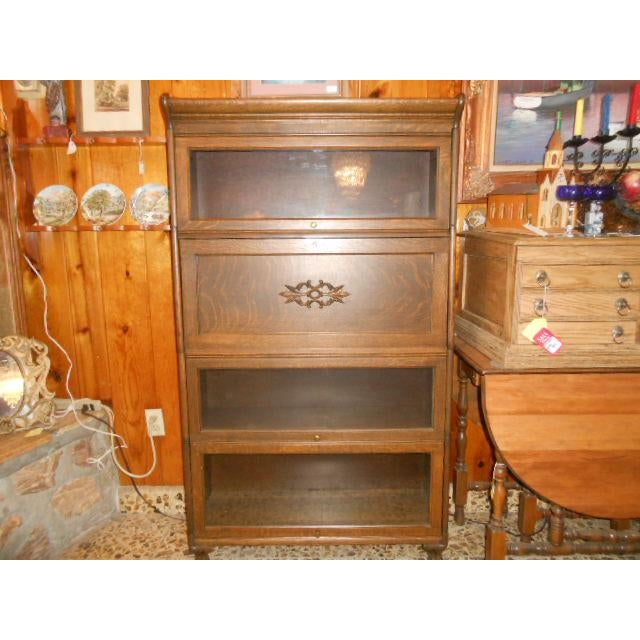 1900s Traditional Gunn Barrister Secretary Bookcase For Sale - Image 11 of 11