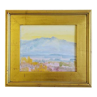 George Barker (1882-1965), Abstract Californian Landscape Oil Painting