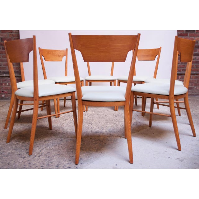 Stained Maple Dining Chairs by Paul McCobb for Perimeter - Set of 8 For Sale - Image 13 of 13