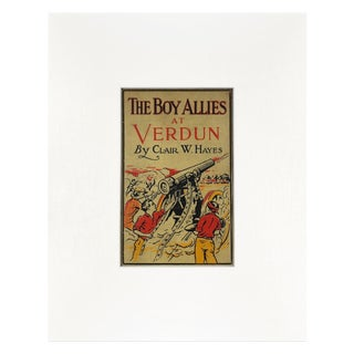 Antique Young Adult Book Cover Art For Sale