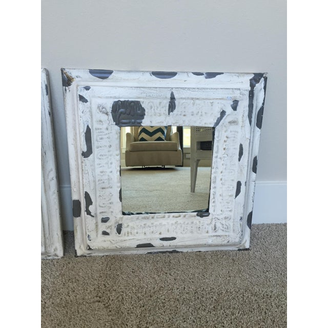 Pottery Barn Noelle Mirrors - Set of 3 - Image 2 of 4