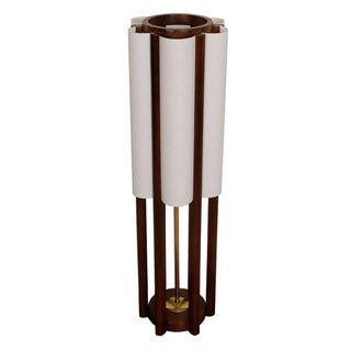Architectural Modernist Tall Table Lamp For Sale