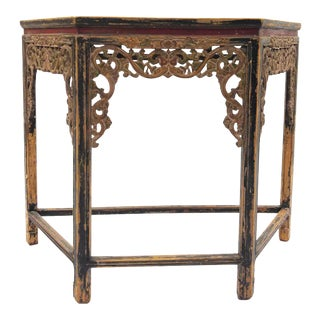 """Van Thiel and Co. """"Aren't We Lucky?"""" Console Table For Sale"""