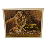 "Image of Vintage Movie Poster ""Nureyev is Valentino"" 1977 For Sale"