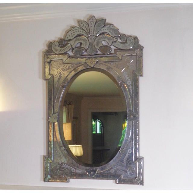 Antique Venetian Wall Mirror Chairish