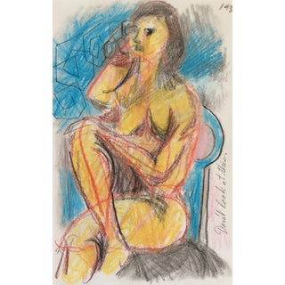 1990s Don't Look at This Female Nude by James Bone For Sale