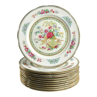 1970s Paragon Tree of Kashmir Dinner Plate - Set of 12 For Sale