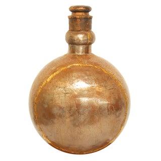 Patinated Metal Copper Vase