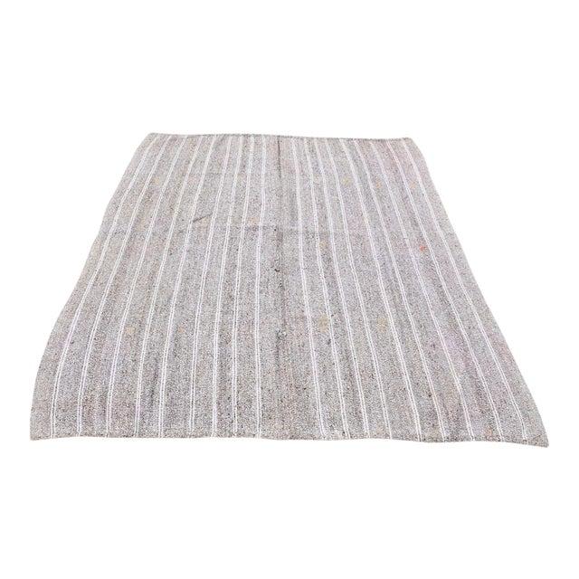 Turkish Tribal Handmade Carpet - 5′10″ × 7′2″ For Sale
