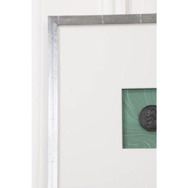 2010s Pair of Hatcher, New Orleans, Framed Intaglios For Sale - Image 5 of 9