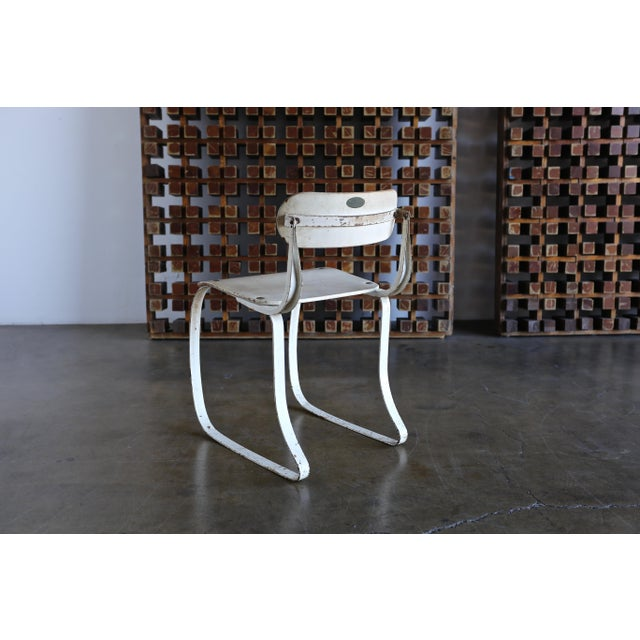 """1940s Herman H. Sperlich for Ironrite """"Health"""" Chair For Sale In Los Angeles - Image 6 of 13"""