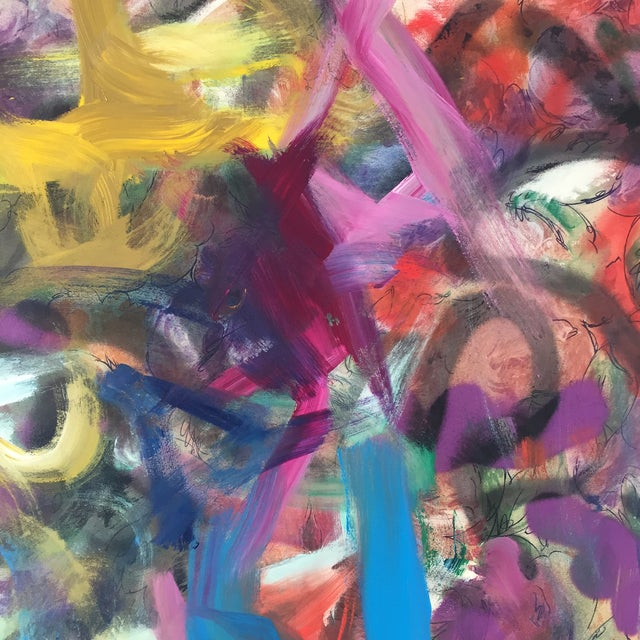 Erik Sulander Contemporary Acrylic & Oil Painting For Sale - Image 4 of 6