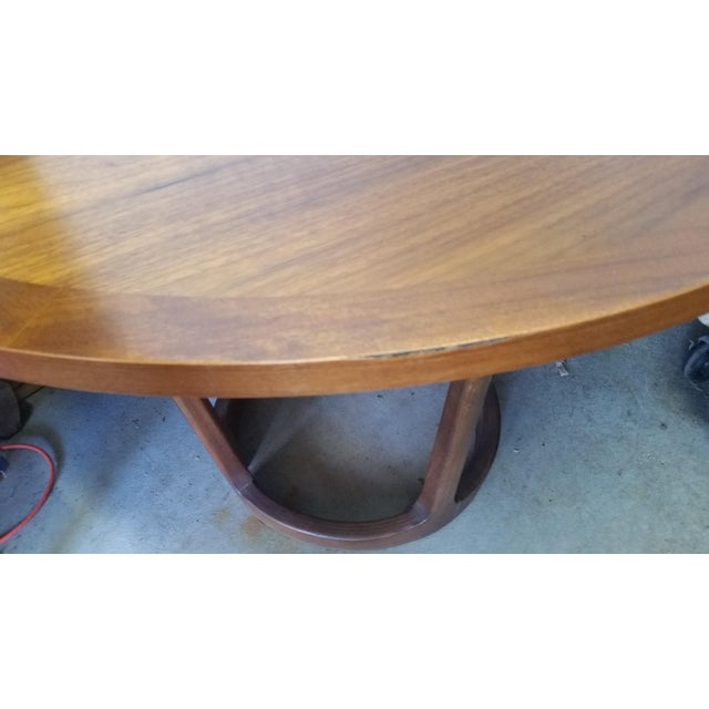 Lane Rhythm Round Dining Table Leaf Pads For Sale - Image 10 of 11
