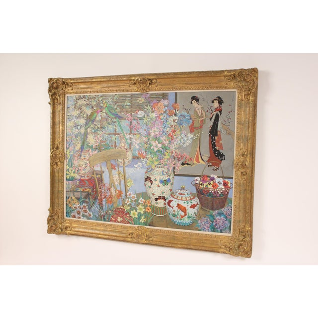 Realism Chinoiserie Still Life by John Powell For Sale - Image 3 of 13