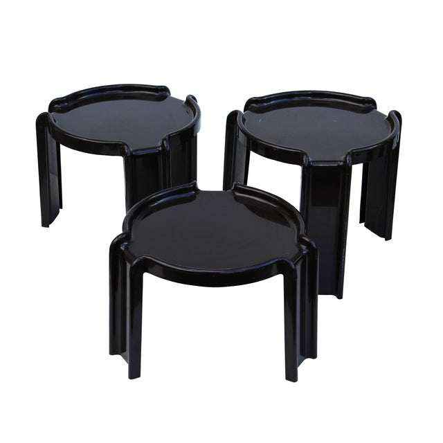 Giotto Stoppino Stacking Tables - Set of 3 - Image 3 of 7