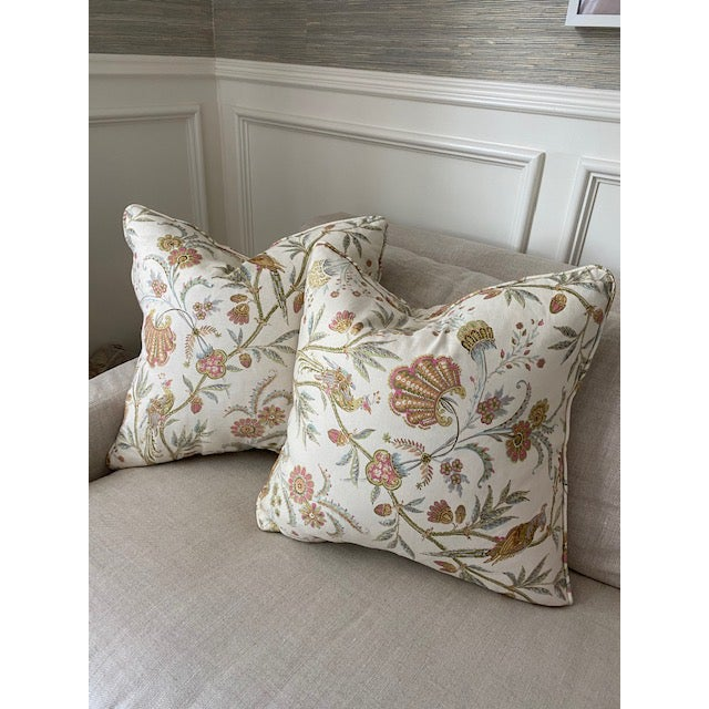 Aerin Pillows- a Pair For Sale - Image 4 of 4