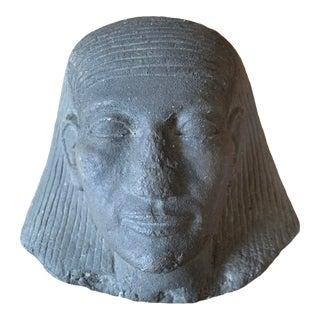 Cast Sphinx Sculpture Egyptian Revival For Sale