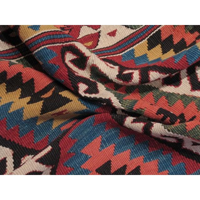Textile Antique Fethiye Kilim For Sale - Image 7 of 8