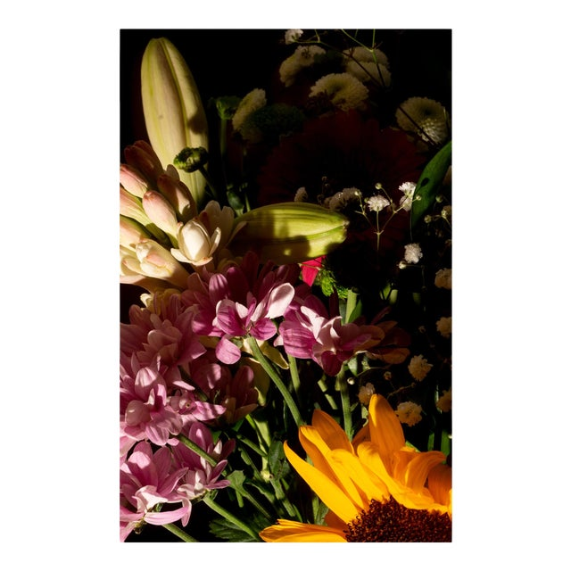 """2021 """"Colorful Flower Bouquet Mix I"""" Still Life Giclée Print by Kind of Cyan For Sale"""
