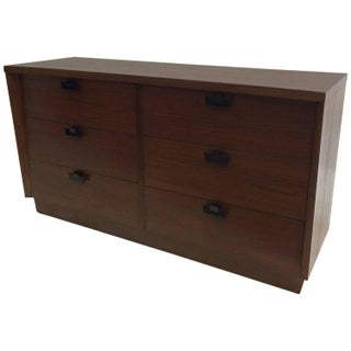 American of Martinsville Walnut Chest of Drawers