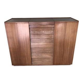 Edward Wormley for Dunbar Mahogany Wardrobe/Dresser For Sale