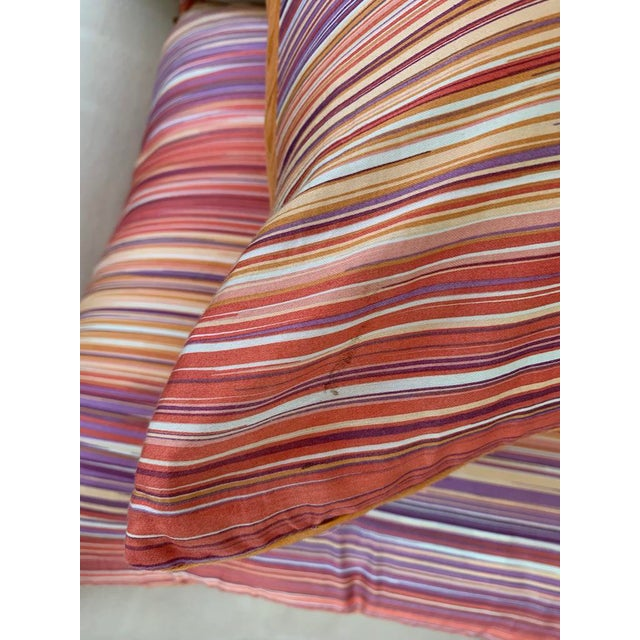 Red Missoni Home Large Decorative Pillows - Pair For Sale - Image 8 of 10