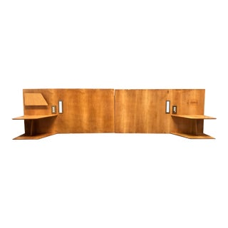 1950s Gio Ponti Headboards, from Hotel Royal Continental, Napoli, 1953 - a Pair For Sale