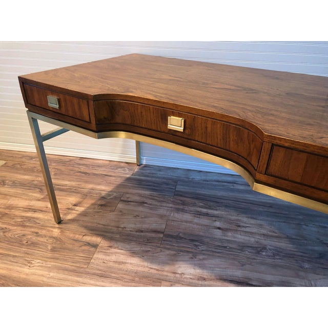Campaign Drexel Consensus Campaign Writing Desk For Sale - Image 3 of 11