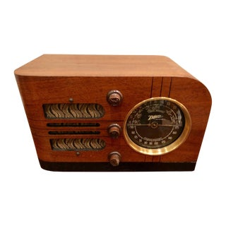 1938 Zenith Model 6-D-219 Table Top Tube Radio Bluetooth For Sale