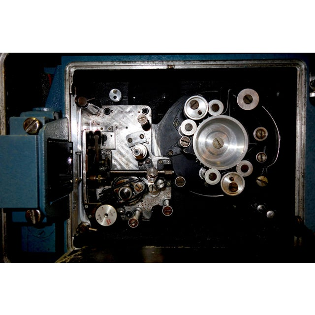 Black Vintage Mitchell Bnc-R Feature Film Camera Ex: John Ford & Paramount Studios For Sale - Image 8 of 13