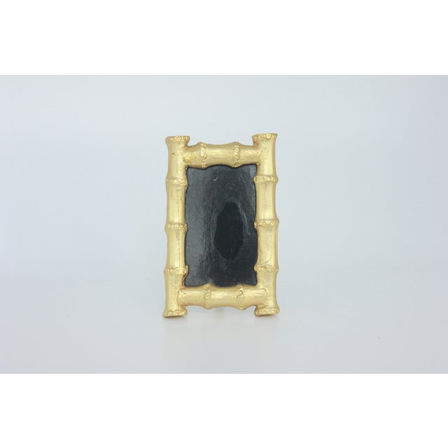 Vintage Gold Gilt Faux Bamboo Photo Frame - Image 3 of 5