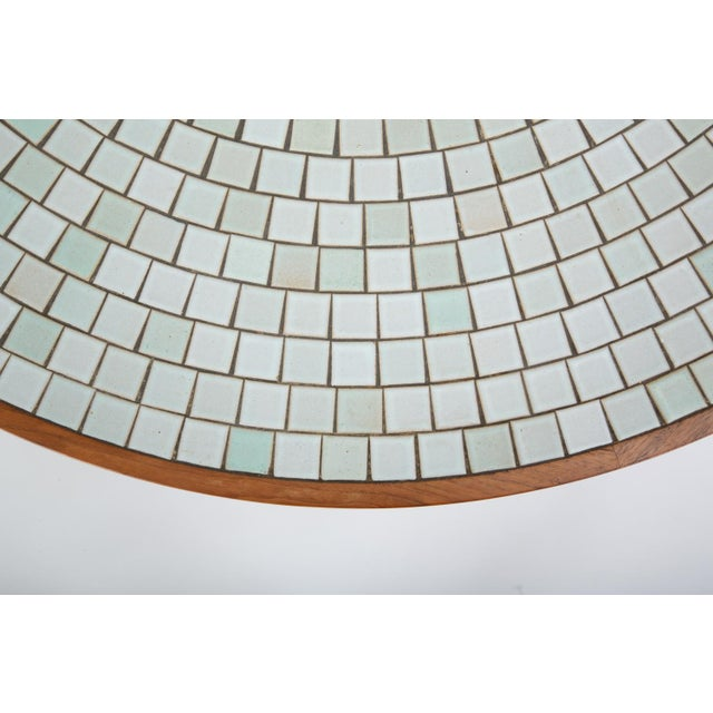 Tile-Top Walnut Dining Table by Gordon & Jane Martz for Marshall Studios For Sale - Image 10 of 13