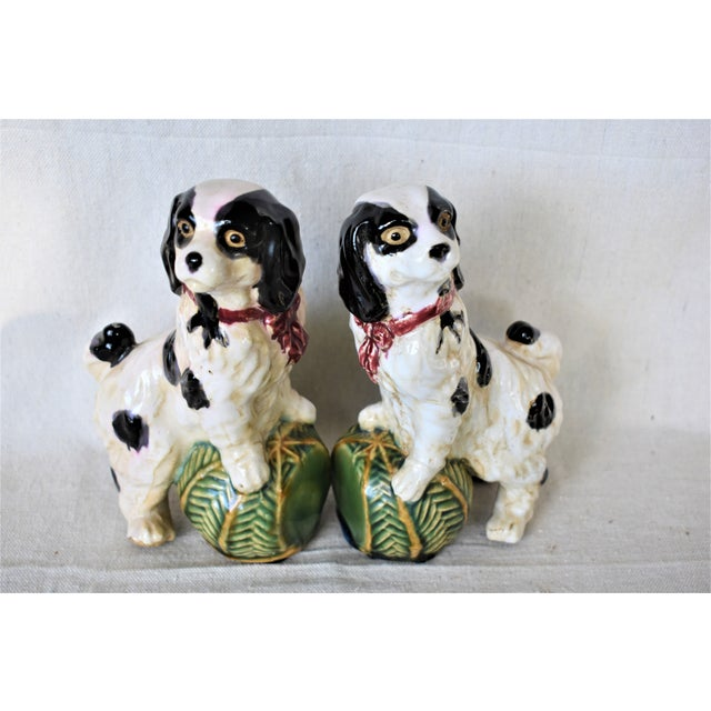 Vintage King Charles Spaniel Bookends - a Pair For Sale In New Orleans - Image 6 of 8