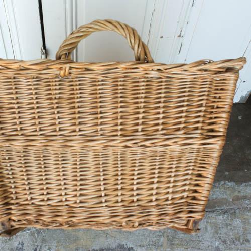 Vintage French Laundry Basket - Image 6 of 8